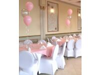 Cheap 70p Chair Covers for Weddings and Baby Showers, Children Parties, Christenings