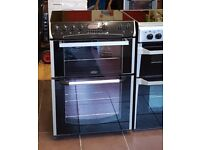 60cm Belling Ceramic Cooker, Fan Assisted Oven / Grilll - 6 Months Warranty