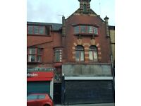 Double fronted commercial unit/shop to let on Prescot Road, L7