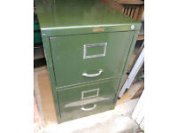 Metal Two Drawer Filing Cabinet - Still Available
