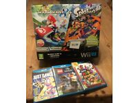 Wii U, in box, excellent condition