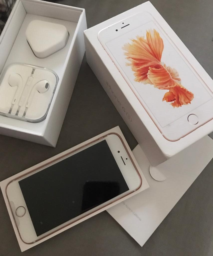 iPhone 6s rose goldin DundeeGumtree - iPhone 6s 64gb rose gold phone is brand new never been used still has original seal on it UNLOCKEDBox ChargerEar phonesFor more information just text or email meThank you )