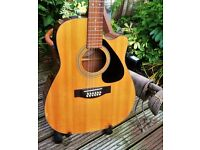 1997 YAMAHA FG411CE, Cutaway Electro-Acoustic 12 string guitar. NOW FURTHER REDUCED