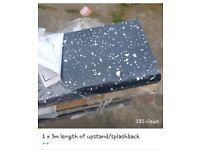 Job Lot Upstands/Splashback, Cornice and Plinth lengths