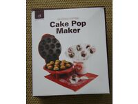 RED CAKE POP MAKER - ONLY USED ONCE FOR A PARTY