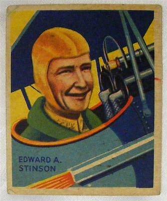 - 1935 National Chicle Sky Birds #39 Stinson Series of 144 Tough Variation