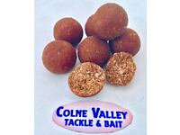 Brown tuna based fish meal 16ml boilies with GLM extract, SHRIMP flavour