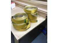 Silver insulation tape for kings pans etc
