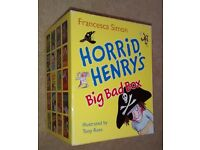 Horrid Henry Books - Big Bad Box Set - 20 children's books