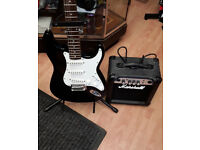 Tangle Wood Nevada FST 32K Black Electric Guitar ,Without Amp, Extra with Amp, See description