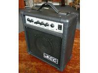 10W guitar practice amplifier as new