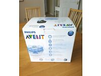 Philips AVENT/ Microwave Steriliser with 3 Bottles, Bag and Brush which was £69, is sale for £19