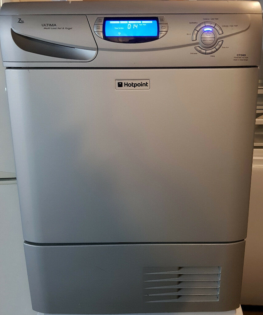 Types Of Mattresses >> 7kg, Alu-silver HOTPOINT Ultima Condenser Dryer For Sale!!! | in Leytonstone, London | Gumtree