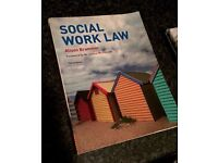 Social work Law- Alison Brammer. Ideal for the social work student!