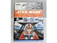 Star Wars Storyboards (Hardcover book) NEW