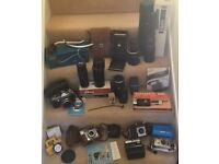 Vintage and pre-digital cameras and lenses :Practika,Agfa,Kodak,Galaxy,Mirage,Prinzflex
