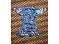 Charlie Banana One Size Cloth Nappy with 2 inserts | MATTHEW LANGILLE HANDSOME | £23 | GREAT COND