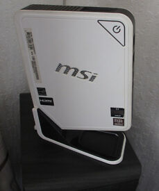 MSI WindBox Dual Core Windows 7