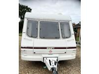 4 berth swift challenger caravan family size caravan