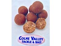 Brown tuna based fish meal 16ml boilies with GLM extract, Peach flavour