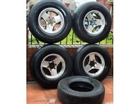 4X4 Theree Spoke Wheels 16 inch Asian Fit was on Toyota Hilux Surf Will Fit Others