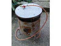 Bullfinch 1400 Propane Gas Garage Workshop Space Heater new regulator works+++