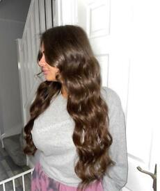 £180 FULL HEAD HAIR EXTENSIONS! LONDON MOBILE HAIR SERVICE|Nano rings|Micro rings|Keratin Bonds|Tape