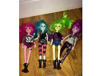 Pixy punk dolls like monster high