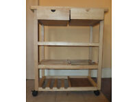 Kitchen trolley/worktop with drawers