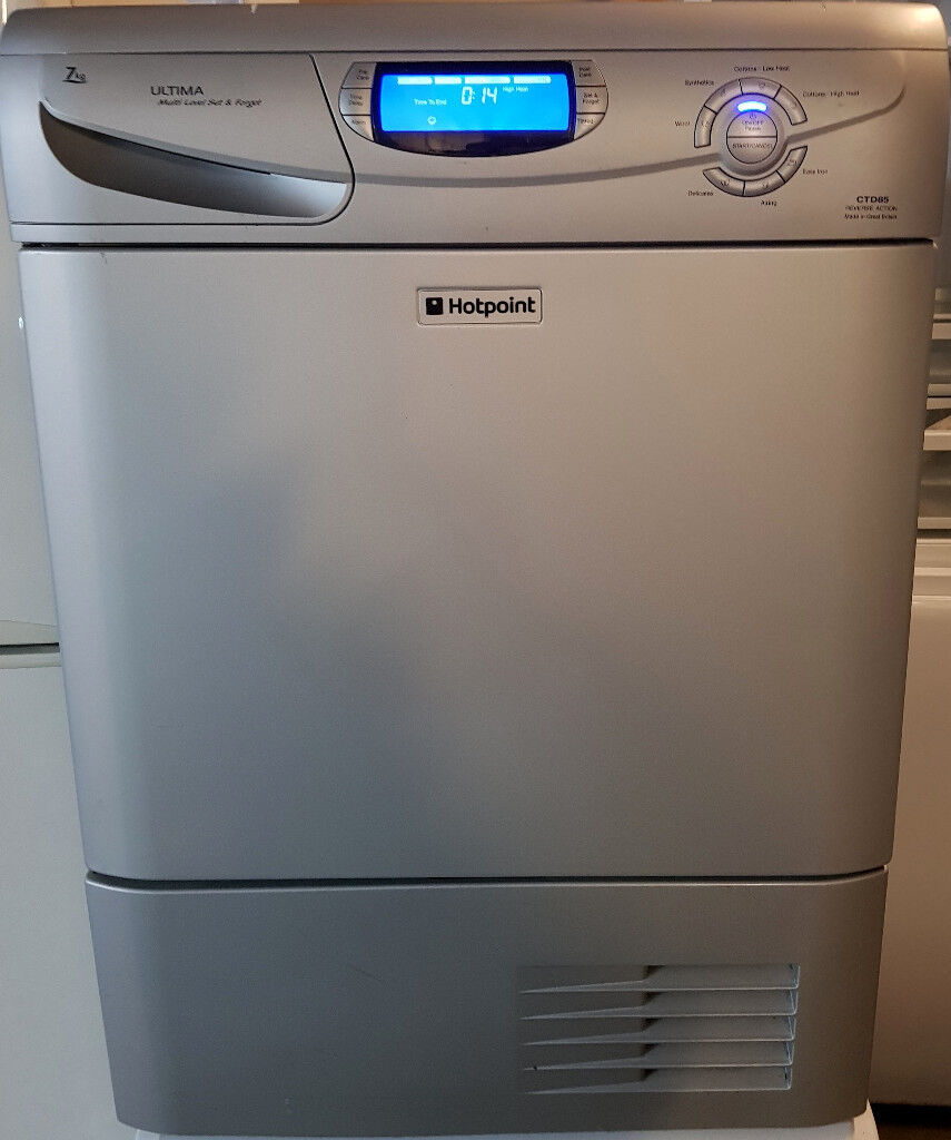 Bwe Tumble Dryer ~ Kg alu silver hotpoint ultima condenser dryer for sale