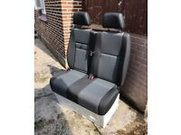 VW Crafter / Mercedes Sprinter Double Passenger Seat - New & Unused - Includes Seat Covers