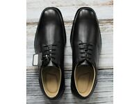 Tredflex Men Plain Black Formal Gibson Shoes UK Size 11