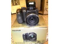 Fujifilm Finepix S3300 Digital Camera 14 Megapixel With Optical Zoom Box Case Lead And Instructions