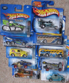 Hot Wheels Cars selection of x10 old collectable cars - Set 42. See photos. All sealed and unused.