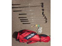 Used Golf Club Set, Balls and Bag