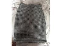 Miss Selfridge Patterned Skirt