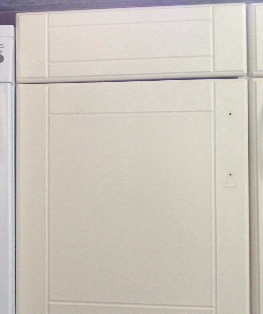 18 Shaker Style Kitchen Cabinet Door Drawer Fronts With Hinges If