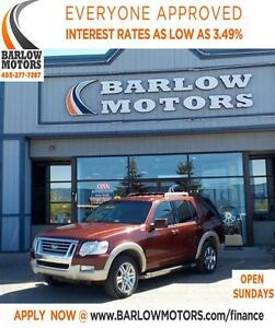 2010 Ford Explorer Eddie Bauer**AMVIC INSPECTION & CARPROOF PROV