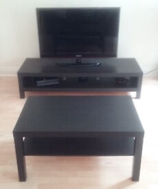 REDUCED!!! Matching TV stand AND coffee table