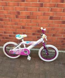 "HUFFY STYLE girls bike 16"" wheels size"