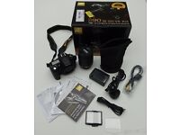 Nikon D90 DSLR with 18-105mm VR lens kit