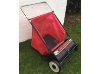 Agri Fab Leaf Grass Garden Rubbish Waste Collector Cleaner Push Along