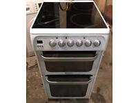 Hotpoint Glass Plate Electric Cooker (Fully Working & 4 Month Warranty)