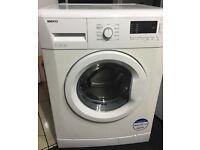 BEKO 7kg washing machine 1300 spin £100 free delivery & installation