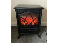 Electric heater - fireplace effect