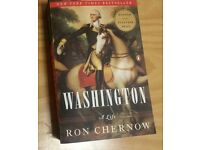 Washington :A life by Ron Chernow (paper back)