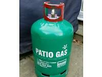 Empty 13kg patio gas tank