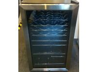 EX DISPLAY HUSKY UNDER COUNTER WINE COOLER (20 BOTTLES) MOD HUSHM39...RRP £245
