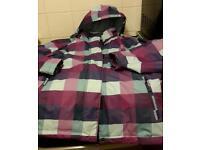 Ladies snow ski jacket with recco size 16