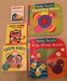 Bundle of baby books
